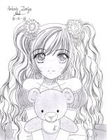 My teddy bear by ZeRo-SaMa23