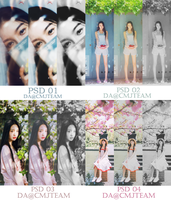 [PACK PSD] #1 #2 #3 #4 CMJ TEAM by CMJTEAM