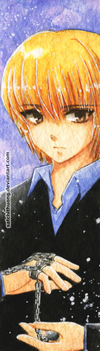 Kurapika bookmark 04 by satchithuong