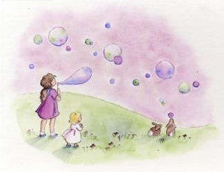 B is for Bubbles by tlagrange
