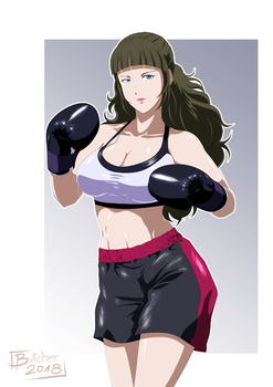 Gina Evans Pro Outfit by deadpoolthesecond