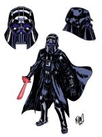 Darth Vader redesign by ADAMshoots