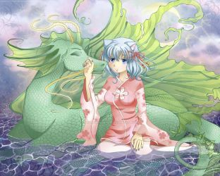 Contest: Kanorin and the Dragon by PeppermintRain