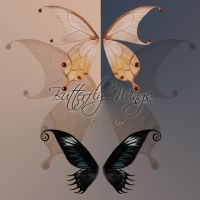 Butterfly Wings 5 by cocacolagirlie