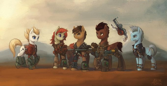 Through the Wasteland by Asimos