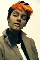 Casimiro Makeup and Wig Test by GreyFinch
