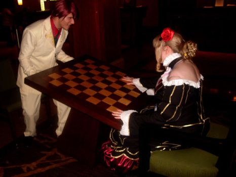 Turning the Chessboard Over by Rinoafox