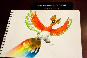 Ho-Oh by NChicaGFX