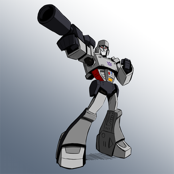 Megatron test colours by KrisSmithDW