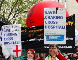 May 18th 2013 - Save the NHS: 9 by LouHartphotography
