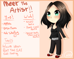 Meet The Artist by Mama--Miki
