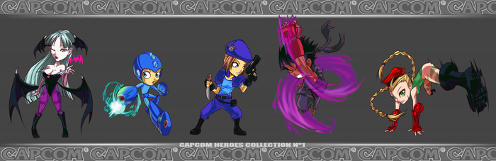 Capcom Heroes collection 1ST by turtlechan