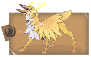 -Auction- Jolteon Themed FC (CLOSED) by GentleLark