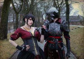 Dragon Age Inquisition Cosplay by ChrixDesign