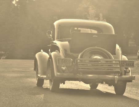Bygone days in a Plymouth by finhead4ever