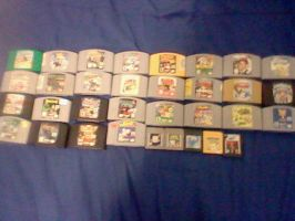 Current N64 GB GBC collection by Manyface-Blake