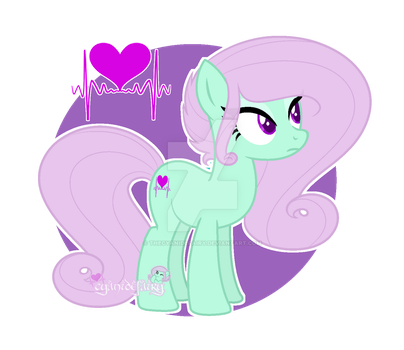 Bubble Spice with cutie mark by thecyanidefairy