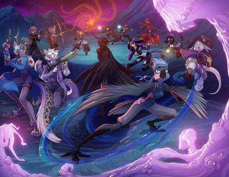 Commission- Fantasy Battle Army by Dreamkeepers