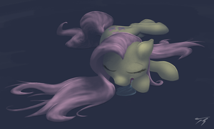 Even Her Schnoozes Are Graceful by TopGull
