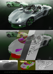 Aventador - Matte and Glossy Green by mezwik