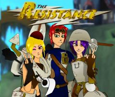 The Resistance Team 1 by JPL-Animation
