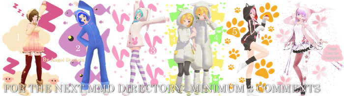 MMD DL Directory 12 [+ Pose Pack DL] by Angela-16