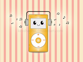 Happy Ipod Music by KesshaChu
