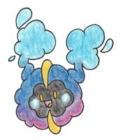 Cosmog by FrozenFeather