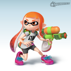 Inkling Girl by Sean-the-Artist