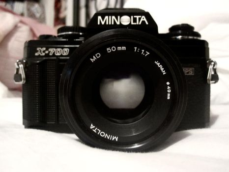 My Minolta X-700 by new-medicines