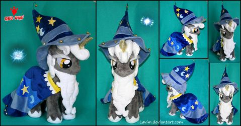 My Little Pony - Star Swirl the Bearded - Plush by Lavim
