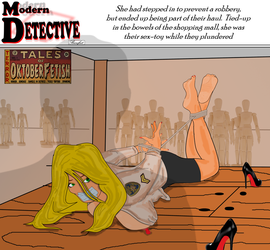 Modern Detective - the Security Breach by BeautifulBarefeet