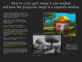 Tutorial - color and grayscale version by Neelai