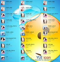 YUI - Icons by spiderio