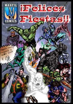 NOW IN MARFIL COMICS: PUBLIC WARS by MutanerdA