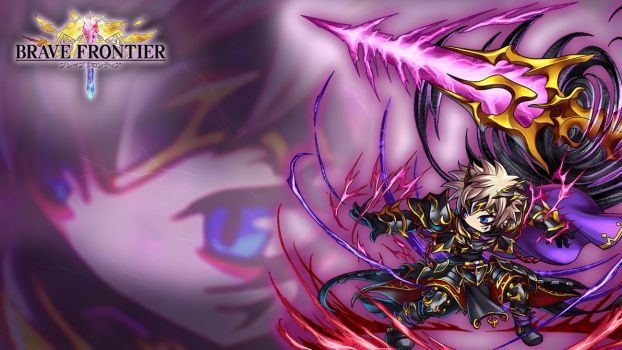 Brave Frontier - Dark Warlord Zephyr Wallpaper by blackfilter