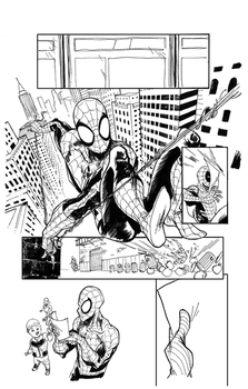 Spider-man Annual page 3 by bbrunoliveira
