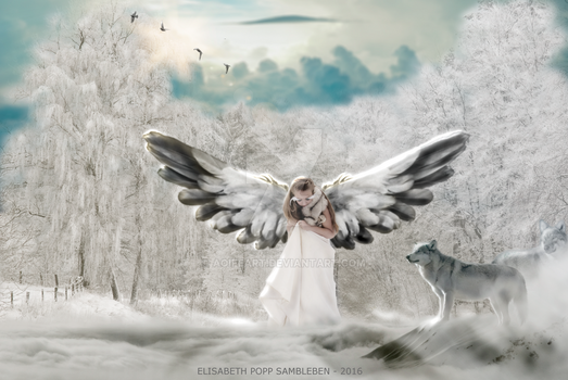 Angel of Winter by AoifeArt
