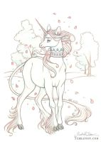 Meadow Unicorn by HeatherHitchman