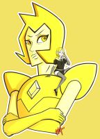 Yellow Diamond (Steven Universe x Houseki no Kuni) by PinkSakuraFlower1