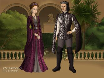 Hermione And Snape In Game Of Thrones by jasiabzdega1954