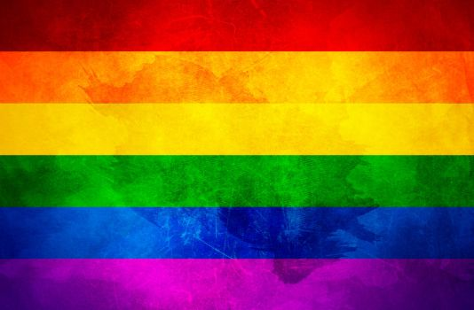 FLAG Bandera GAY Community Two by paundpro