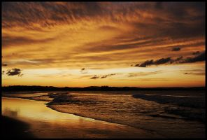 Sepia sunset 1 by wildplaces