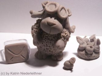 Sculpey Lenon by Cathy86