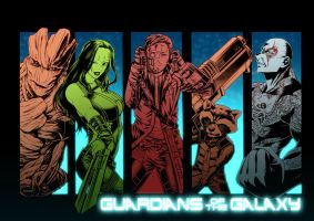 Guardians of the Galaxy by cva1046