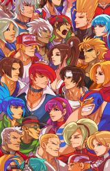 King of Fighters Heads by edwinhuang