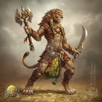 Lion man by gugu-troll
