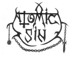 LOGO OLDSCHOOL METAL BAND  FROM USA ATOMIC SIN by LuciforusArt