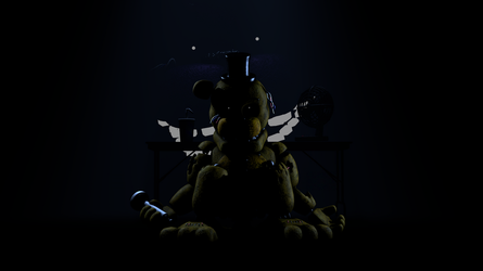Animation Frame: Golden Freddy + Extra by TF541Productions