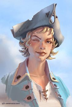 Portrait Bonnett by Kai-S